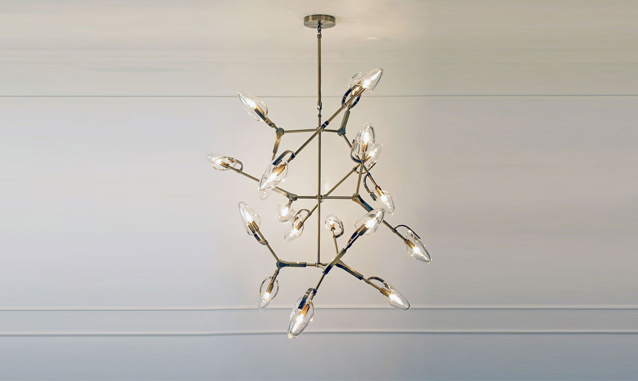 Matthew Fairbank Kineses Chandelier